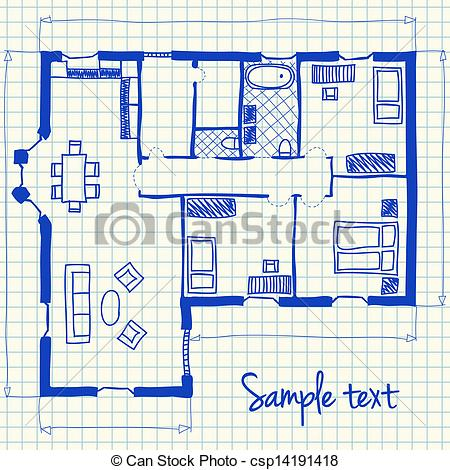 house floor plan clipart Clipground