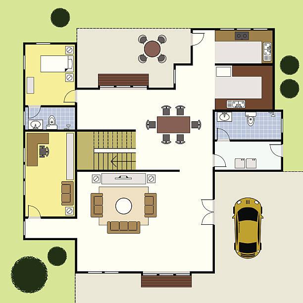 Floor Plan Clip Art, Vector Images & Illustrations.