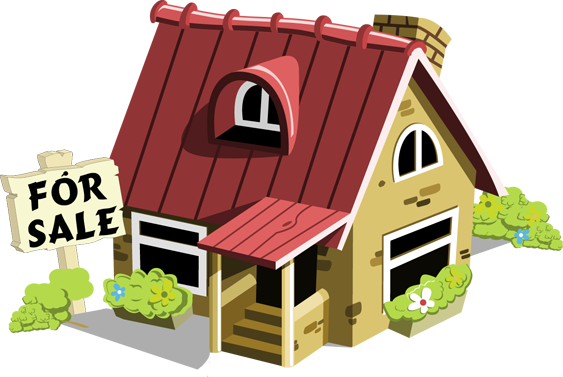 Sale house clipart.