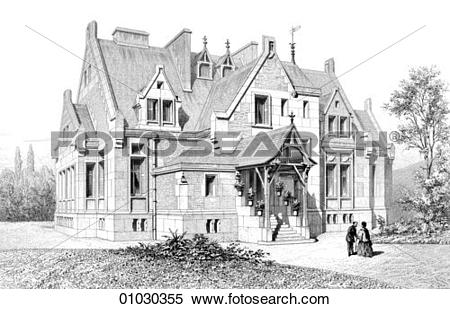 Stock Illustration of Architecture.