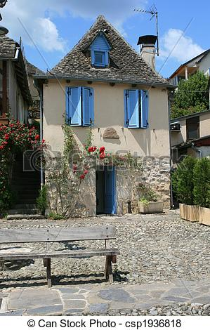 Pictures of Small House . Argentat , France.