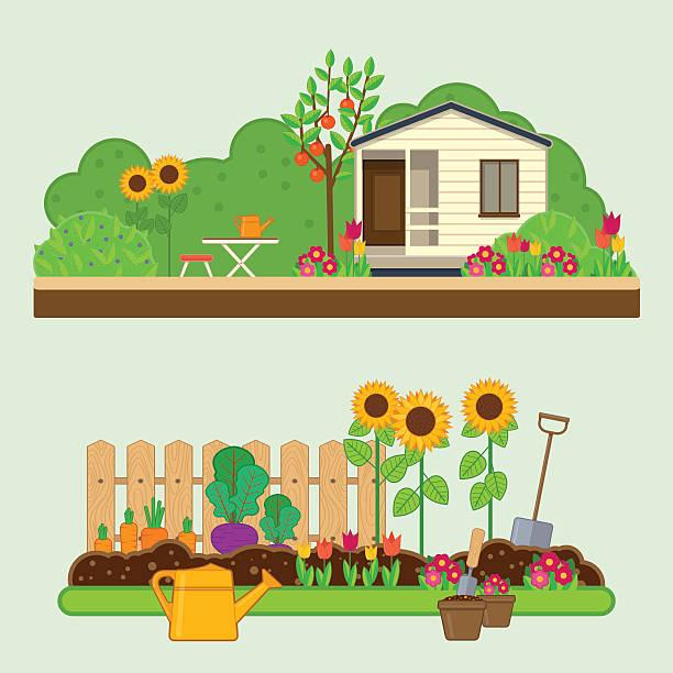 Home And Garden Clipart.