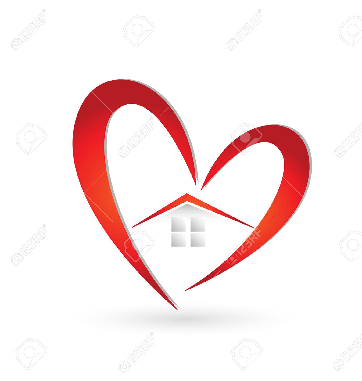9,441 House Heart Stock Illustrations, Cliparts And Royalty Free.