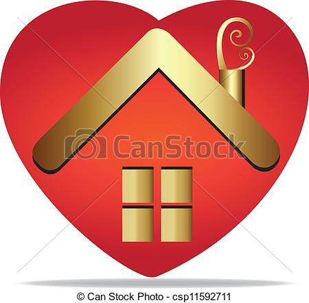 House heart Clipart Vector Graphics. 5,689 House heart EPS clip.