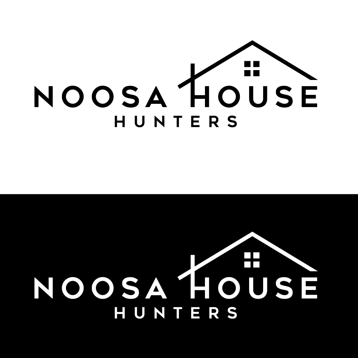 Elegant, Upmarket, Real Estate Logo Design for Noosa House.