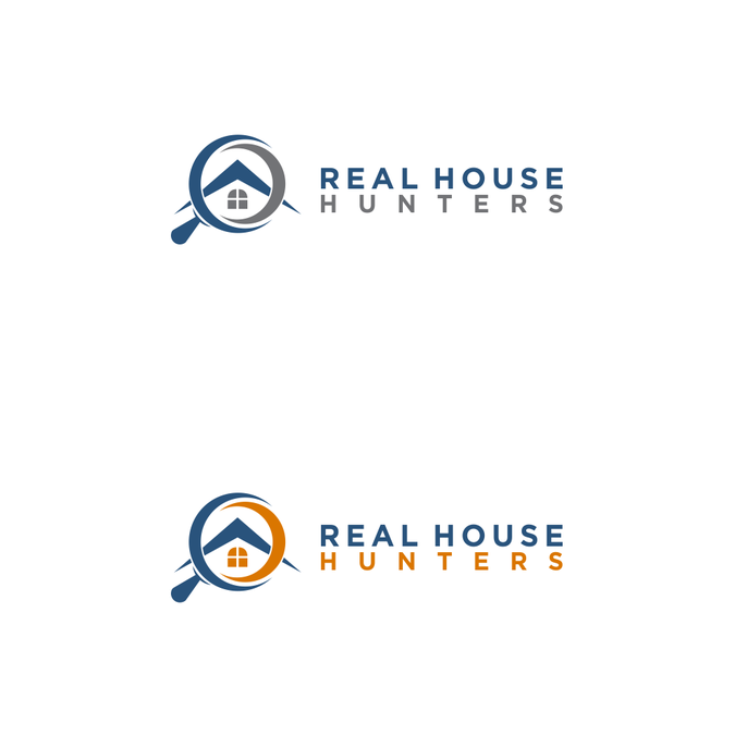 Design a logo for Real House Hunters Real estate Investors.