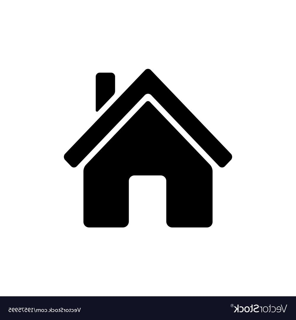Best Free House Icon Vector Drawing » Free Vector Art, Images.