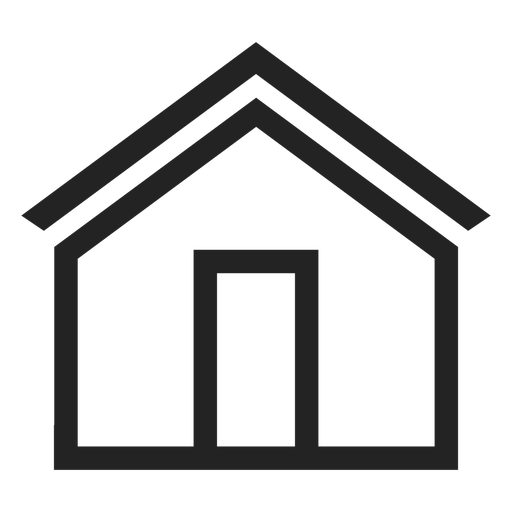 Simple house icon.