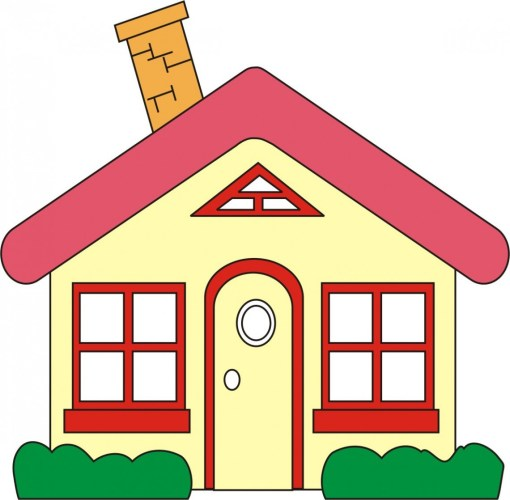 Top house clip art free clipart image.