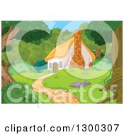 Similiar Cottage In The Woods Clip Art Keywords.