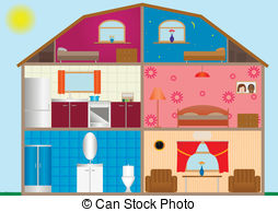 House interior Illustrations and Stock Art. 81,997 House interior.