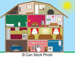 House interior Clipart Vector Graphics. 28,880 House interior EPS.