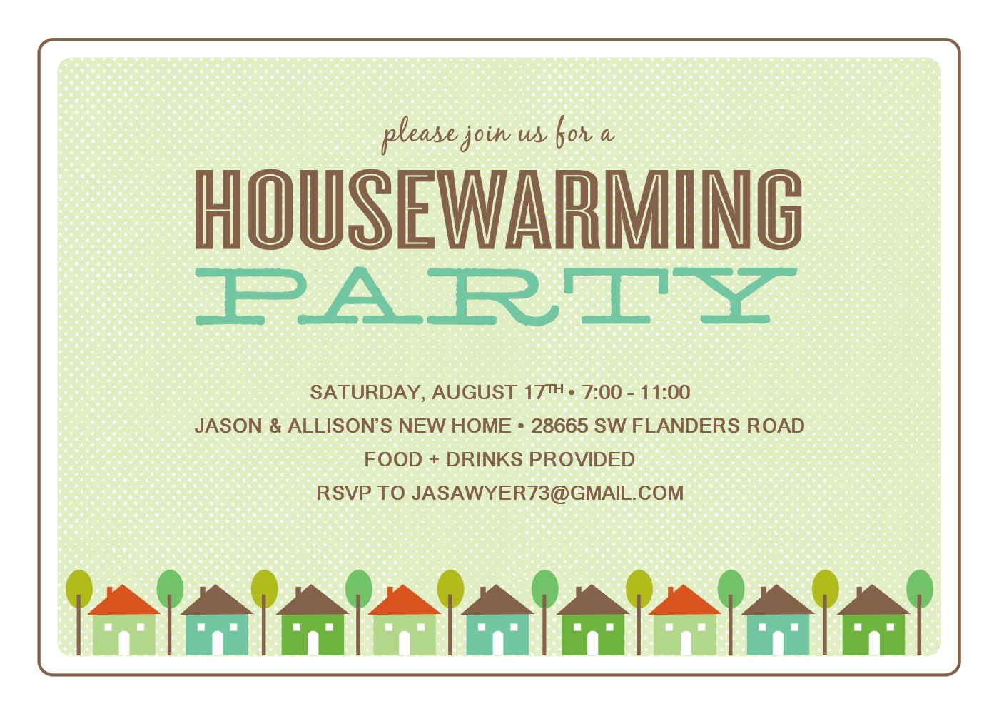 Wonderful Small With House Warming Invitation Clipart Sample And.