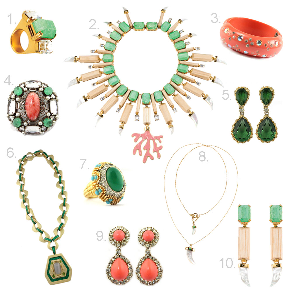 House Of Lavande Blog: Jewelry Trend: Mixing the Old and the New.