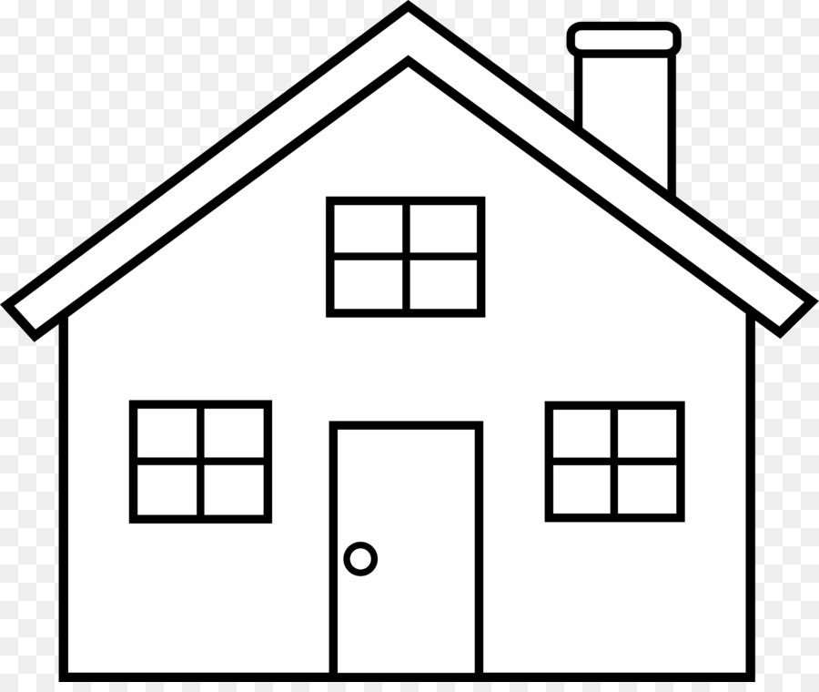 House Outline Clip Art Home Cliparts Animated Png Download 3589.