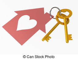 House keys clipart - C...