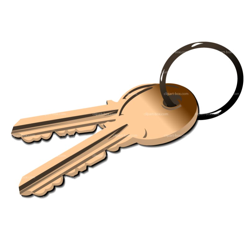 House Key Clipart.