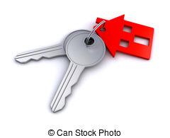 Clipart house keys.