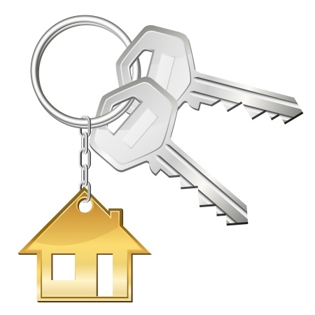 Home Key Clipart.