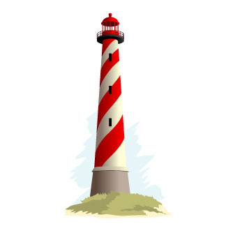 Light house clipart.