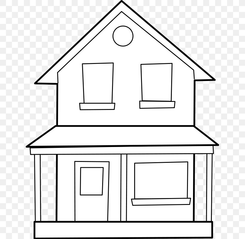 Drawing Line Art House Clip Art, PNG, 647x800px, Drawing.