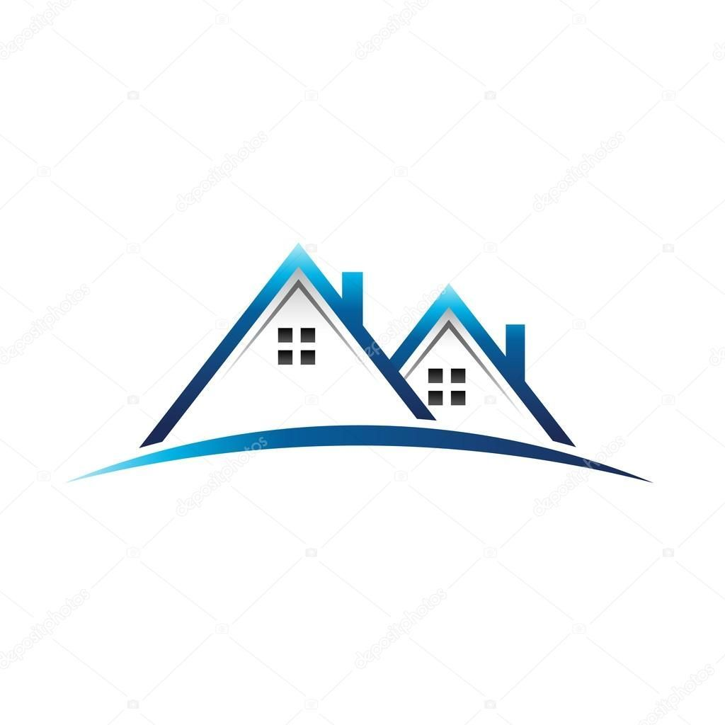 Houses real estate logo #estate #house #real #home.