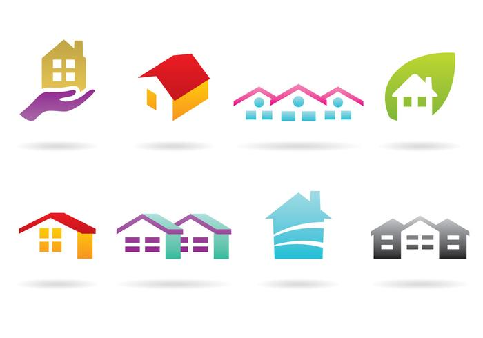 House And Roof Logos.