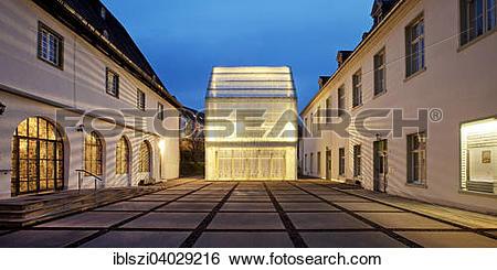 """Stock Images of """"Wedinghausen monastery with light house, Arnsberg."""