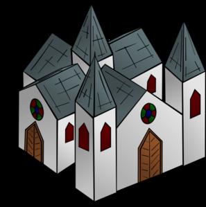Monastery Clipart.