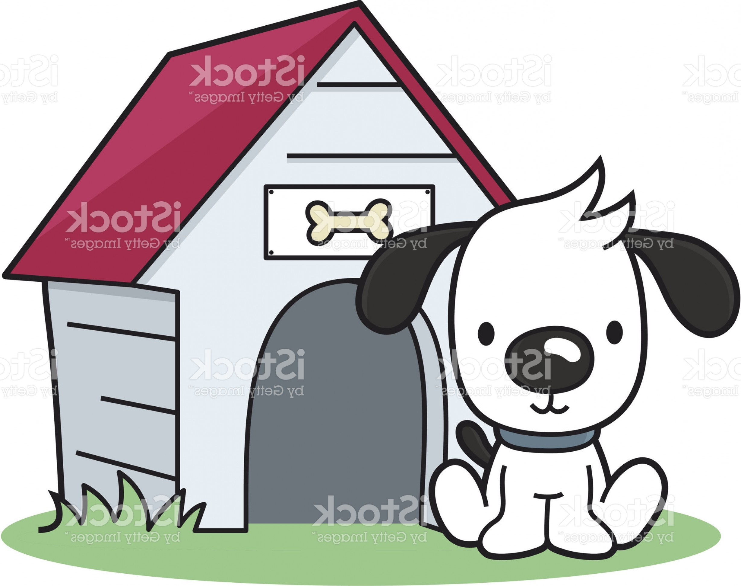 Best Dog House Name Plate Vector Picture.