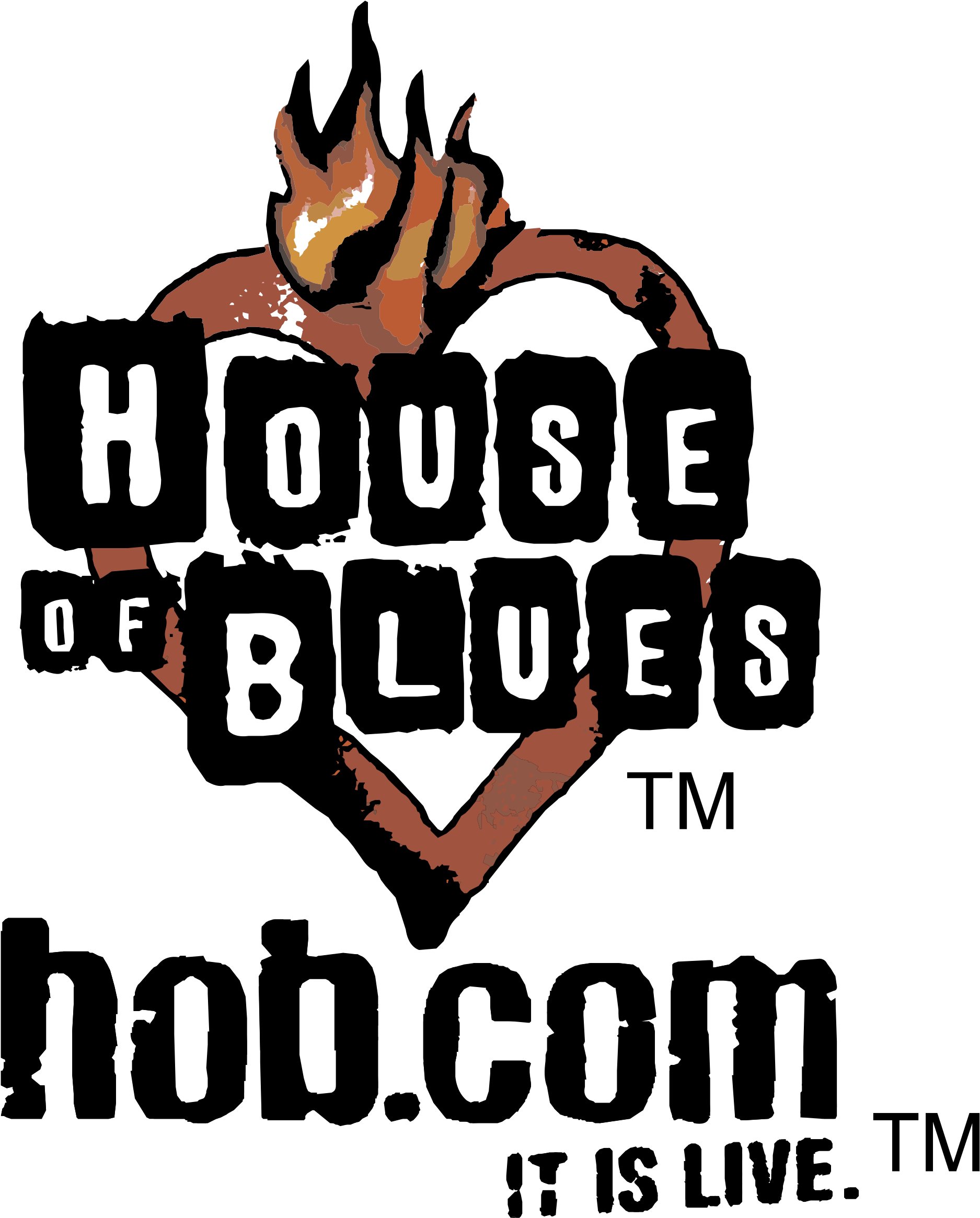 HD House Of Blues Logo Png Transparent.