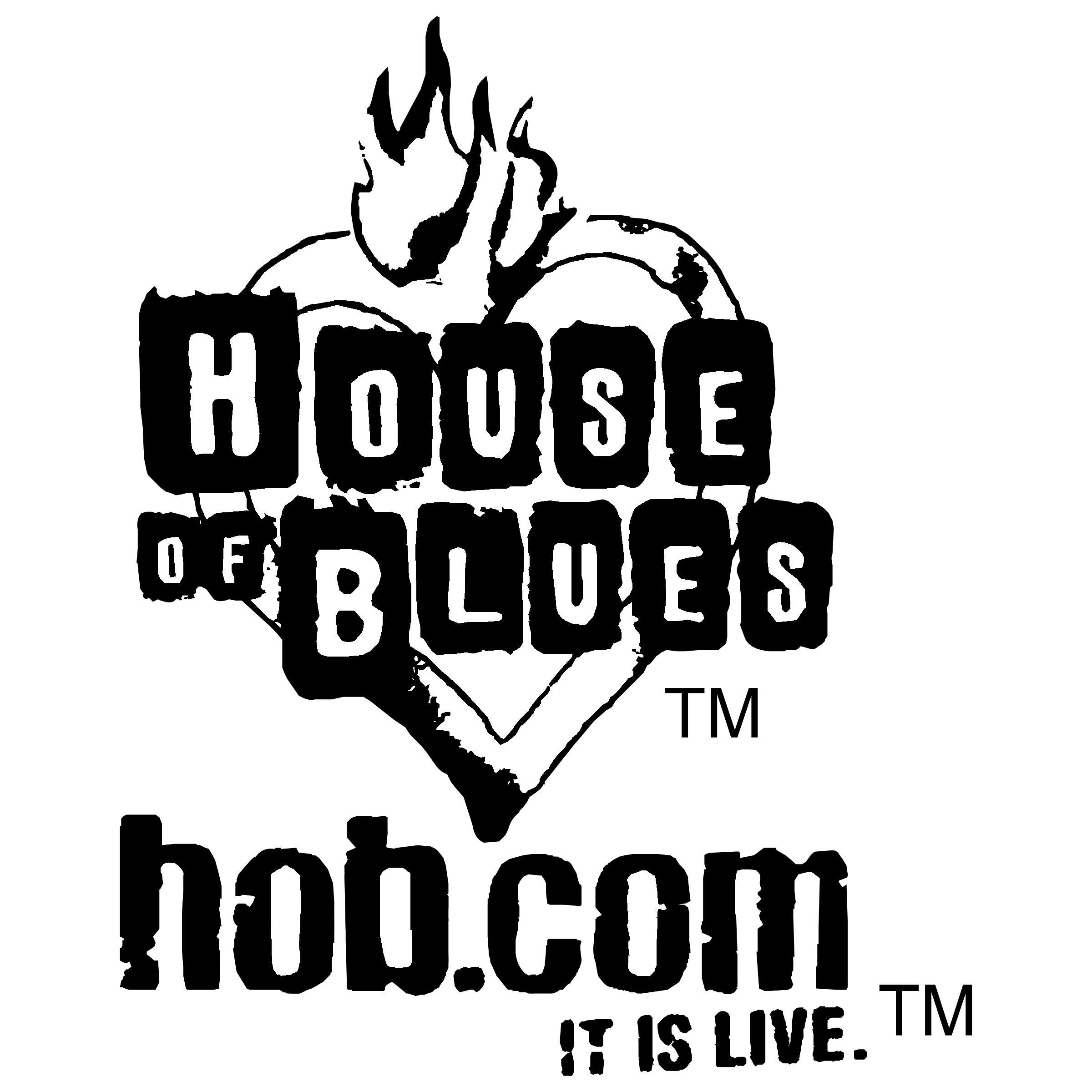 House of Blues Logo PNG Transparent & SVG Vector.