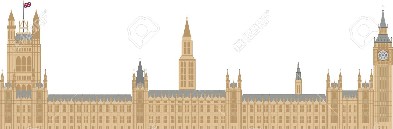 Clip Art House of Parliament London.