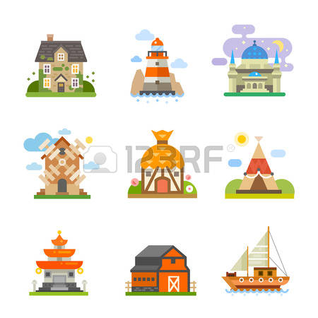 2,952 Chinese House Stock Illustrations, Cliparts And Royalty Free.