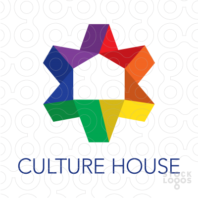 Exclusive Customizable Logo For Sale: Culture House.