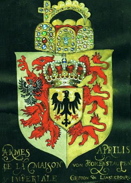 Russian College of Heraldry Hohenstaufen m AIII.