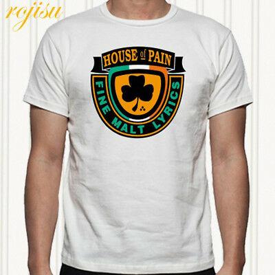 HOUSE OF PAIN Rap Hip Hop Logo Men\'s White T.