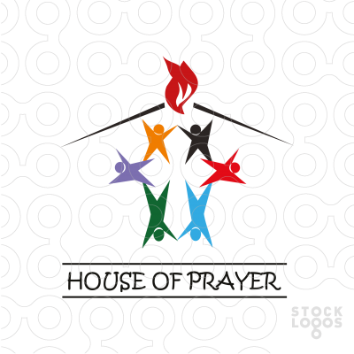 Exclusive Customizable Logo For Sale: House of prayer.