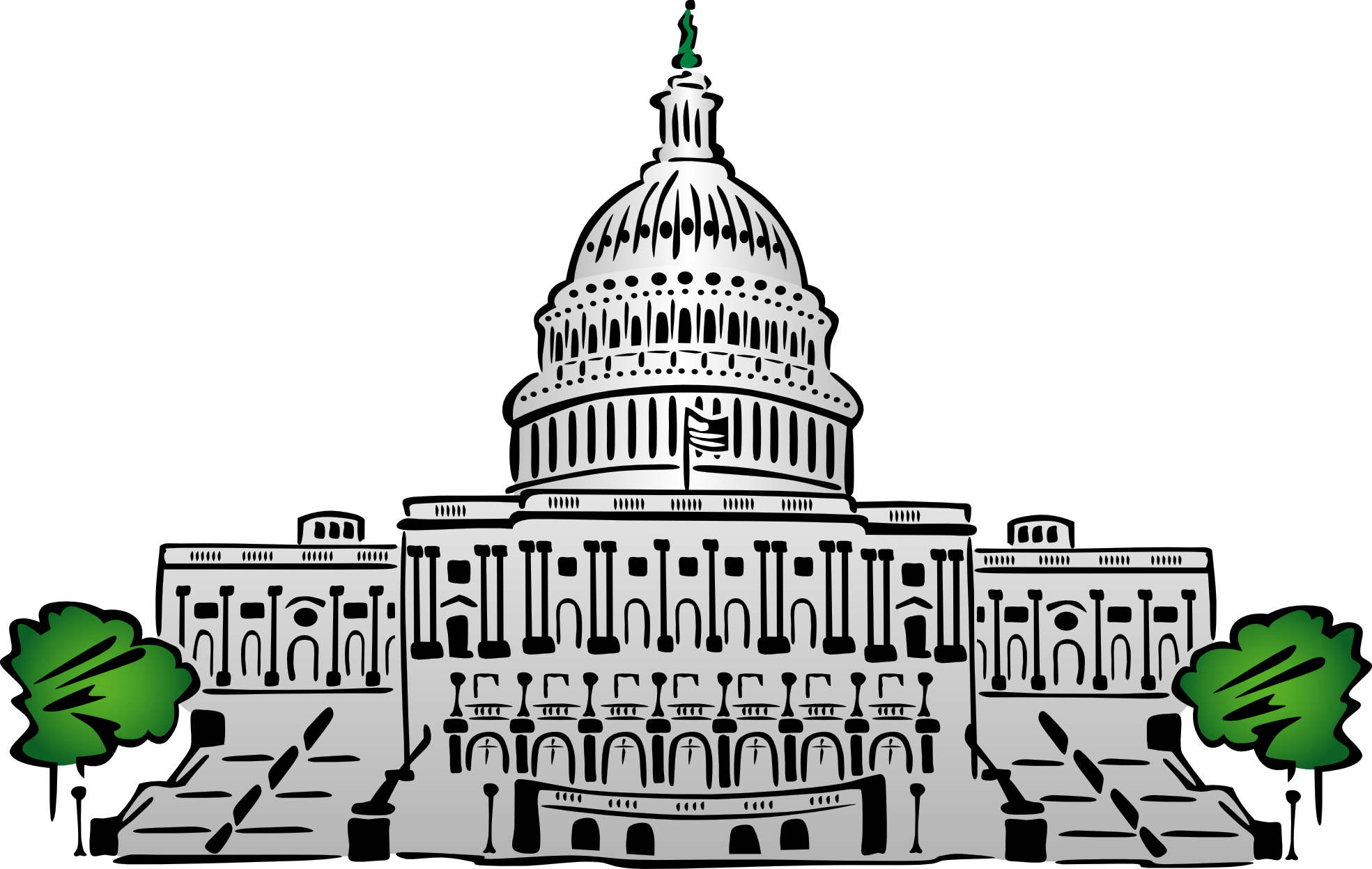 House Of Representatives And Senate Clipart Drawing.