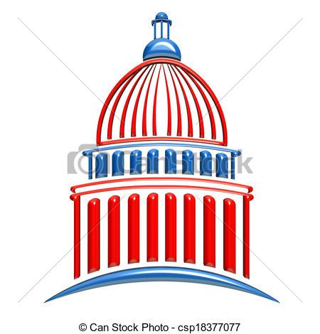 House of representatives and senate logo