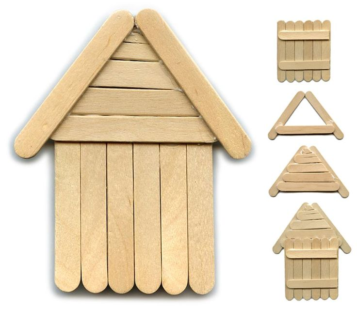 25+ best ideas about Popsicle Stick Houses on Pinterest.