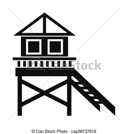 House On Stilts Clipart Clipground