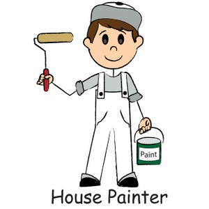 House Painting Clipart.