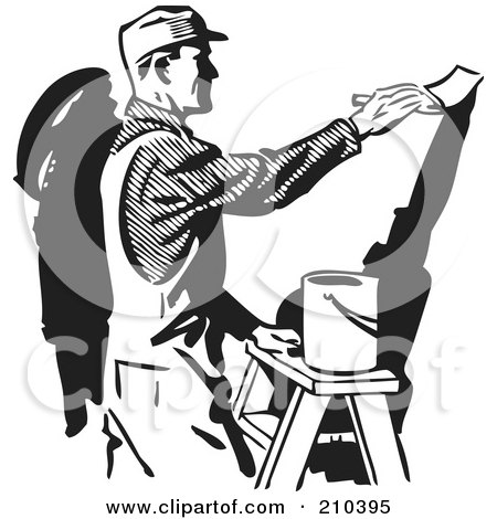 House Painting Clipart (40+).