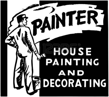 5,326 House Painters Stock Vector Illustration And Royalty Free.