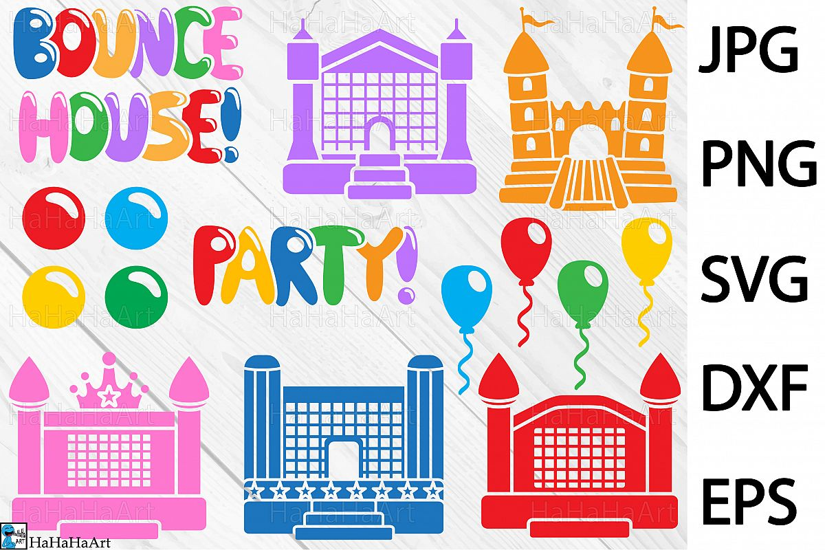 Bounce House Party.