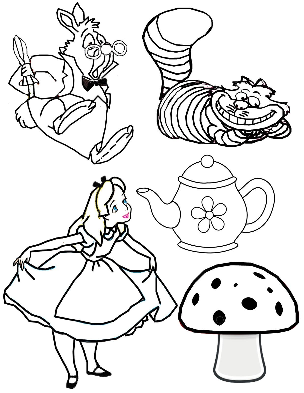 Tea+Party+Clipart+copy.jpg 1,237×1,600 pixels.