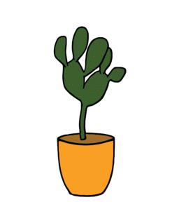 House plant clipart.
