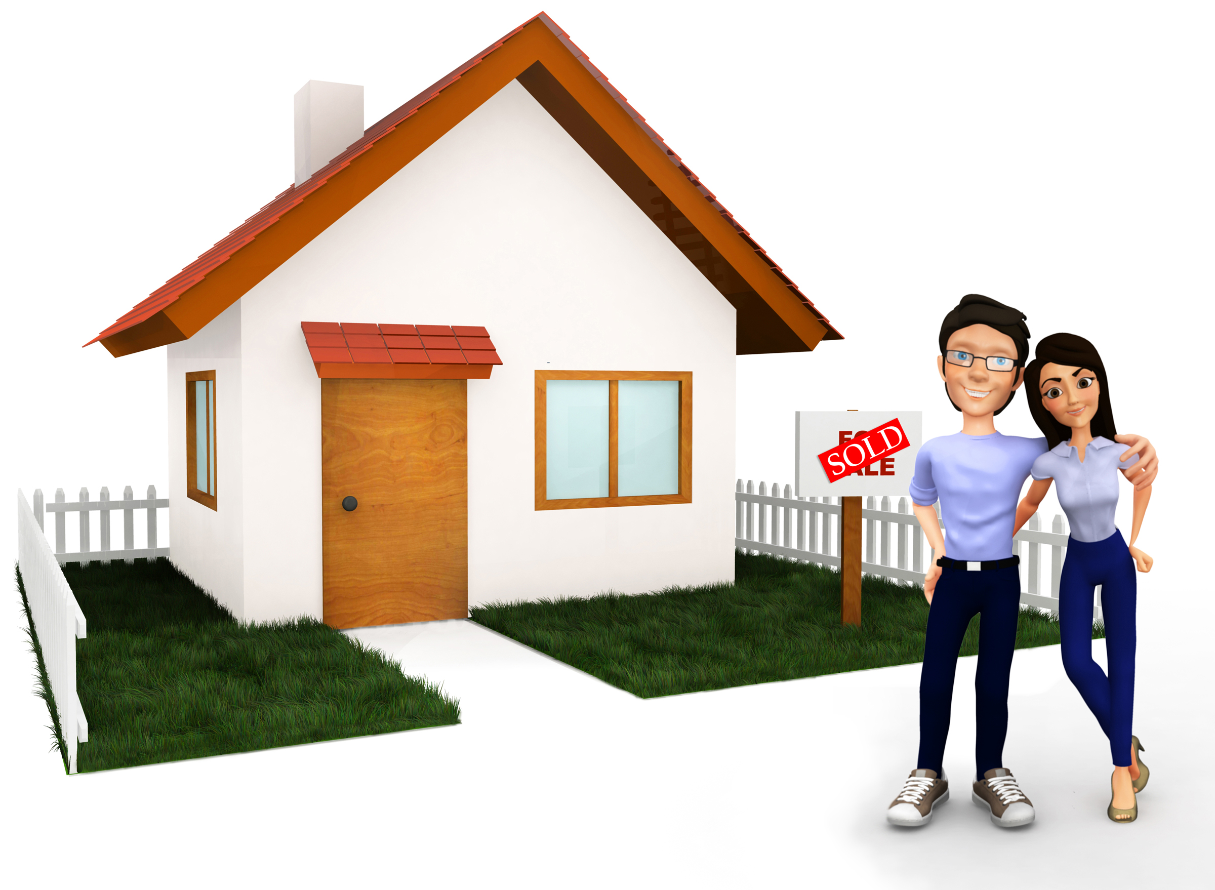 Home buyer clipart.