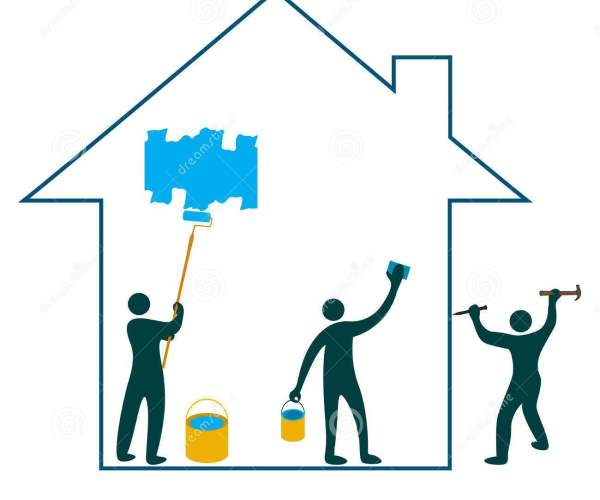 House Remodeling Clipart Clipart Panda Free Clipart Images, House.